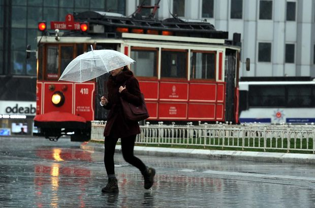 Meteoroloji'den İstanbul'da gök gürültülü sağanak yağış uyarısı