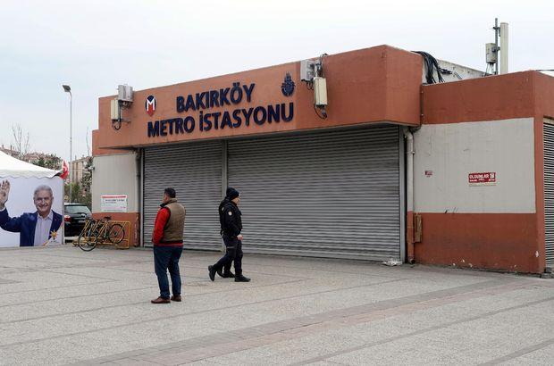İstanbullular dikkat! Bakırköy Metro İstasyonu kapatıldı!