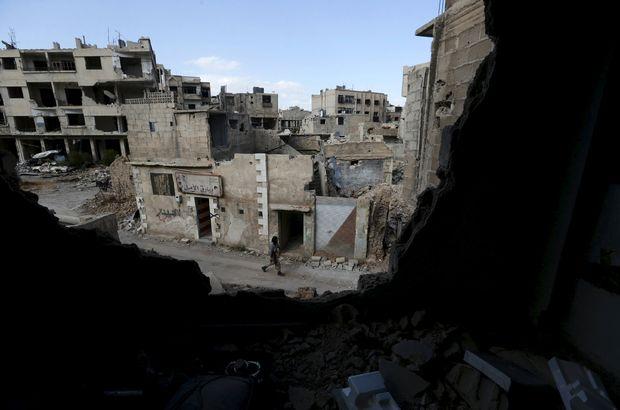 Şam'da rejimle muhalifler arasında çatışma