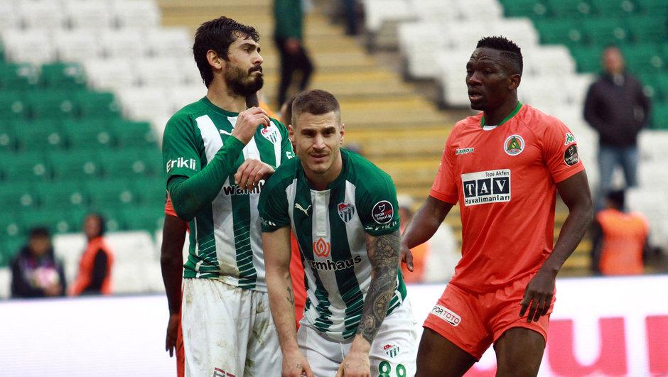 Bursaspor: 1 - Aytemiz Alanyaspor: 3 | MAÇ SONUCU