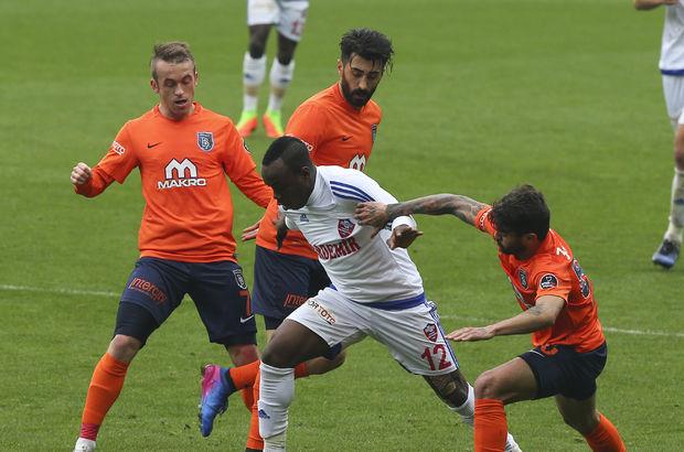 Başakşehir: 3 - Karabükspor: 3 maç özeti