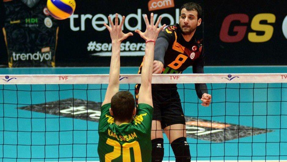 Galatasaray HDI Sigorta: 3 - Şanlıurfa Memleketspor: 0