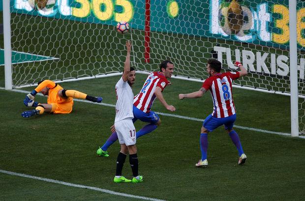 Atletico Madrid: 3 - Sevilla: 1