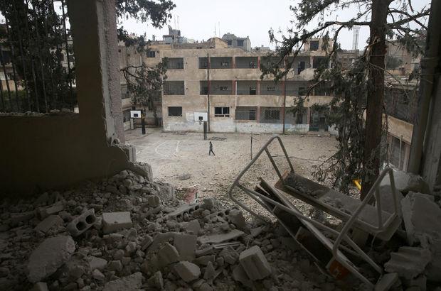 Şam'da çatışmalar şiddetlendi, Rus Büyükelçiliği'nde hasar var!