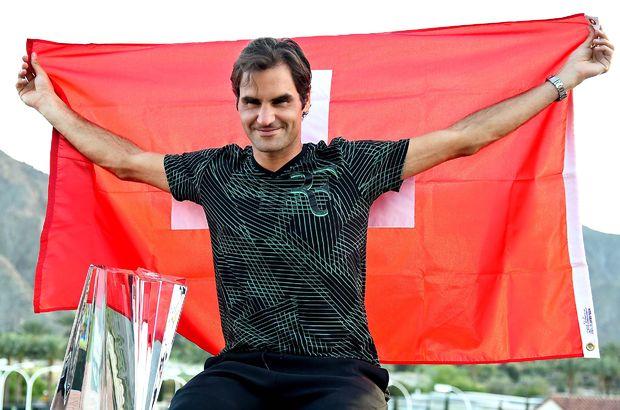 Roger Federer şampiyon Indian Wells
