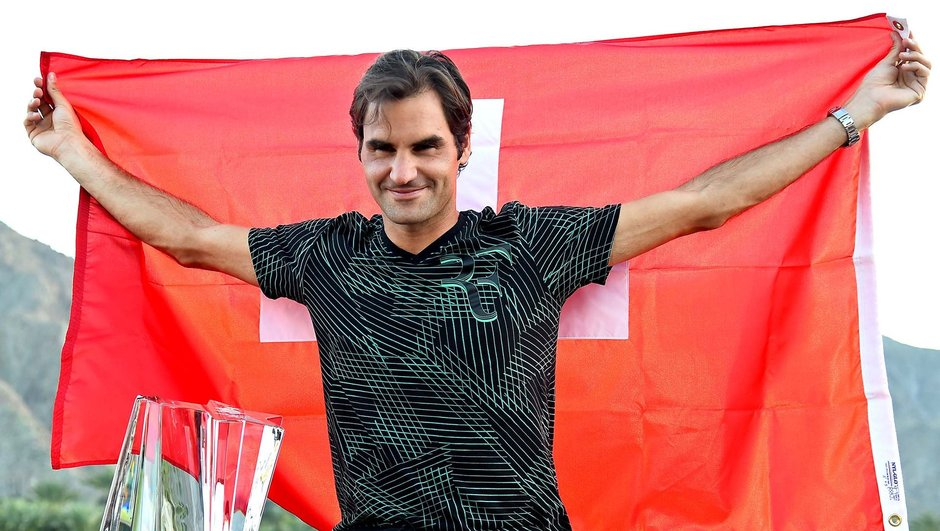 Roger Federer şampiyon Indian Wells