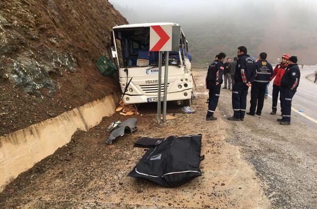 2 ilde işçi servisleri kaza yaptı! 3 ölü, 9'u ağır 35 yaralı
