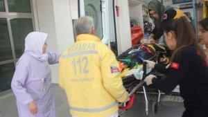 Karaman'da eşini sedyede görün temizlik görevlisi kadın sinir krizi geçirdi