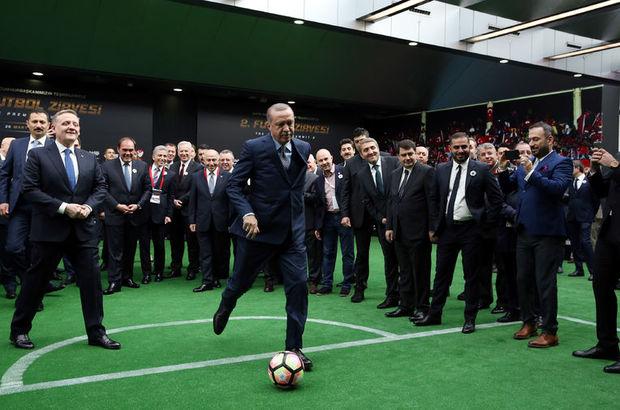 Recep Tayyip Erdoğan, penaltı atışı