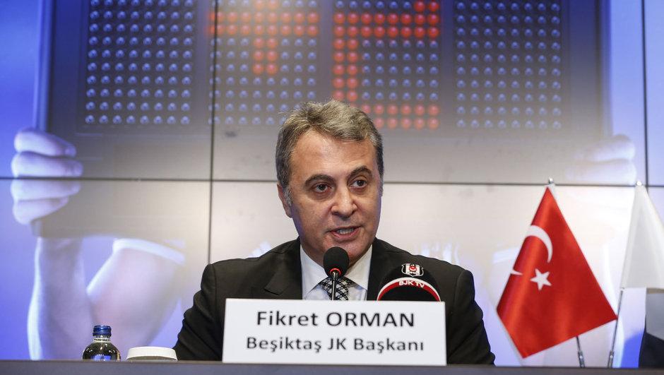 Fikret Orman Beşiktaş Aboubakar kırmızı kart ceza
