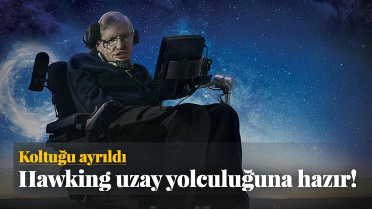 Dünyaca ünlü fizikçi Stephen Hawking, son arzusunun uzaya seyahat etmek olduğunu ve bunu gerçekleştirmeye hazır olduğunu açıkladı.