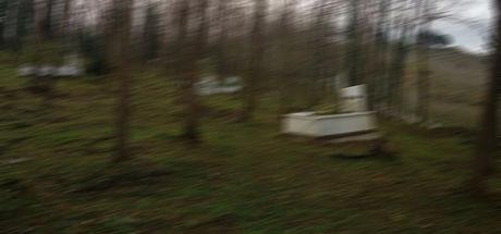 Bursa'da mezarlıkta 5 aylık cenin bulundu
