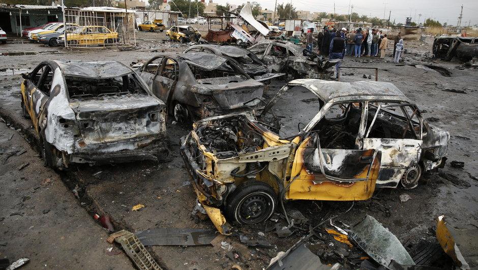 Bağdat'ta bombalı saldırı: 23 ölü