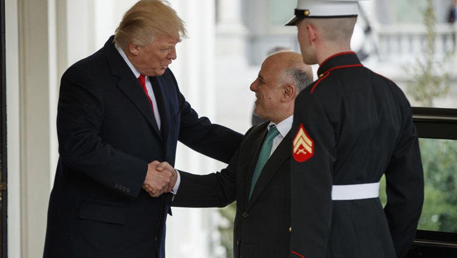 Haydar el-İbadi Donald Trump