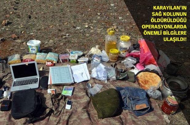 PKK'nın 'randevu defteri' ele geçirildi