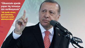 Erdoğan'dan AB mesajı: 16 Nisan'dan sonra konuşacağız, bu devran böyle gitmez