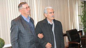 Fethi Sekin'in babası Ömer Halisdemir'in babasını ziyaret etti