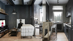 Modern ev dekorasyonu örnekleri
