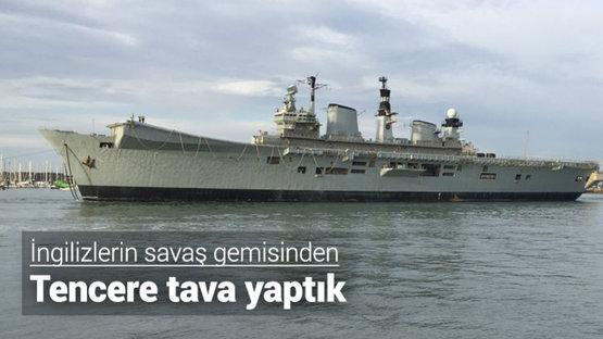 Donanma gemisi tencereye dönüşecek