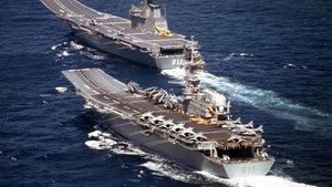 İngiliz uçak gemisini Türk firması satın aldı