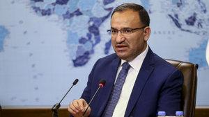 Adalet Bakanı Bekir Bozdağ'dan FETÖ elebaşının geçici tutuklanması talebi