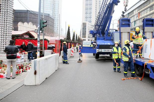Almanya'da Noel pazarına TIR saldırısına 2 tutuklama