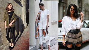Mercedes-Benz Fashion Week İstanbul'dan blogger'ların stilleri