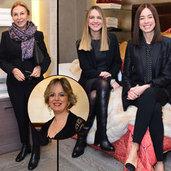 Cemiyet hayatının ünlü hanımları, İtalyan lüks ev tekstil markasının yeni koleksiyon tanıtımında bir araya geldi.