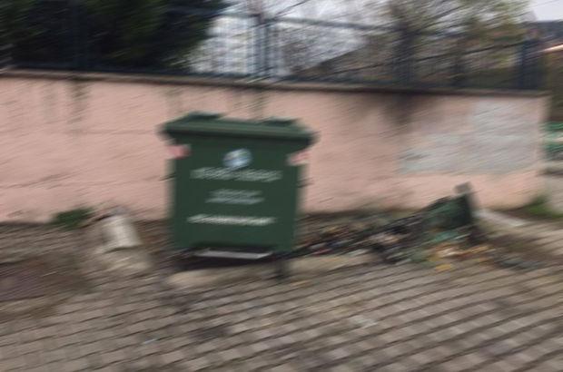Korkunç olay! Çöp konteynerinin yanında buldular