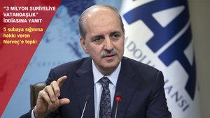 Numan Kurtulmuş, Avrupa'ya PKK'nın Olof Palme cinayetini hatırlattı