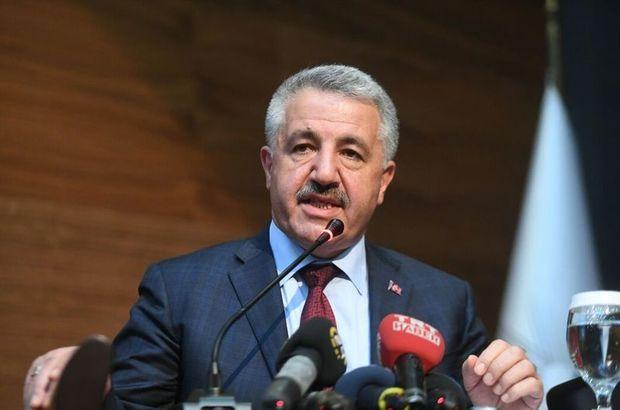 Ulaştırma Denizcilik ve Haberleşme Bakanı Ahmet Arslan, ABD uçuş yasağı