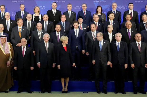 68 bakan Washington'da toplandı, Boris Johnson'ın yeri boş kaldı!