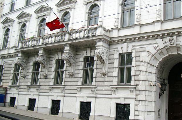 Türkiye'nin Viyana Büyükelçiliği'ne saldırı