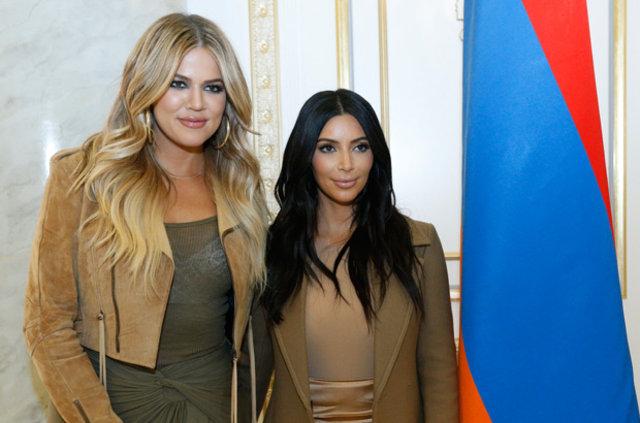 Khloe Kardashian eriyor