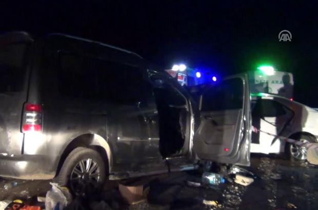 Manisa'da trafik kazaları: 2 ölü, 11 yaralı