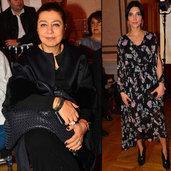Modaya gönül veren sosyetenin ünlü hanımları, Mercedes-Benz Fashion Week Istanbul'daki defileleri kaçırmıyor.