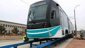 Akçaray Tramvayı test sürüşü belediye başkanından