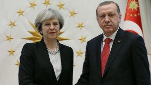 Erdoğan, İngiltere Başbakanı'yla görüştü