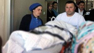 Samsun'da eşarbını makineye kaptıran Iraklı kız ölümden döndü