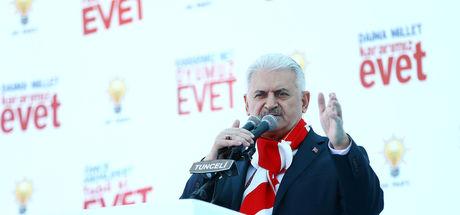 Başbakan: Kılıçdaroğlu Dersim'in adını bile anmaktan korkuyor