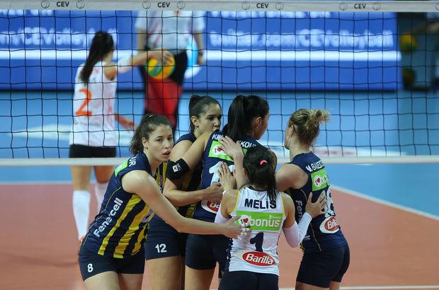 Eczacıbaşı VitrA: 2 - Fenerbahçe: 3   MAÇ SONUCU