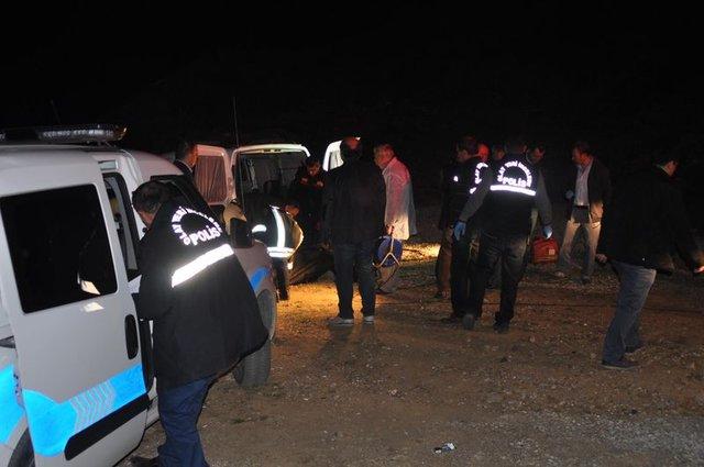 Denizli'de dövülüp boğazı kesilen bir kişi araba bagajında bulundu