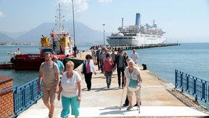 Alanya'da kruvaziyer turizmi başladı