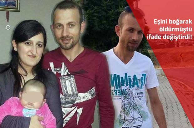 Antalya'da eşini boğarak öldüren Osman Kızılçelik ifade değiştirdi