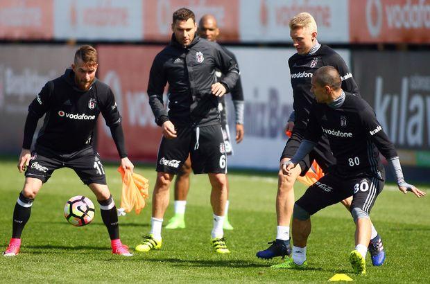 Beşiktaş'ta Gençlerbirliği maçı hazırlıkları sürüyor