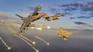 TSK'dan Kuzey Irak'taki PKK kamplarına hava harekatı