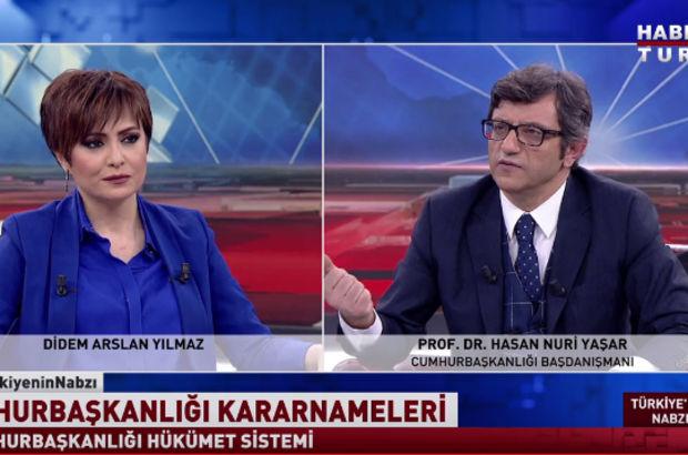 Hasan Nuri Yaşar: Parlamenter sistem toplumun iradesinin istismar edildiği sistemdir