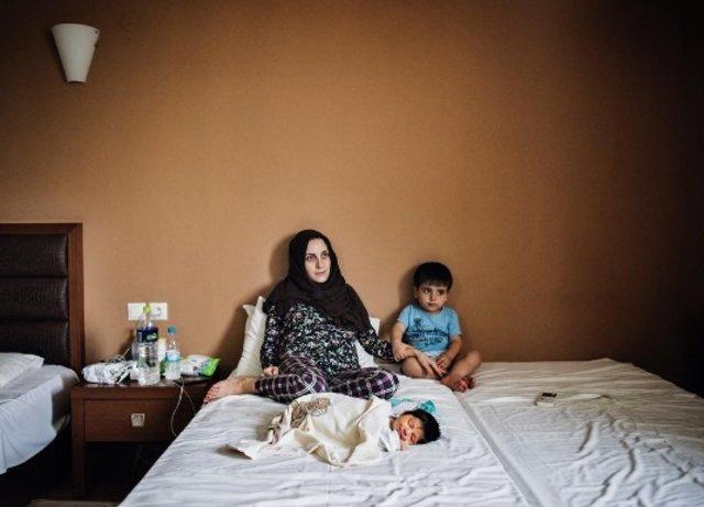 İki Suriyeli bebeğin yaşam mücadelesi