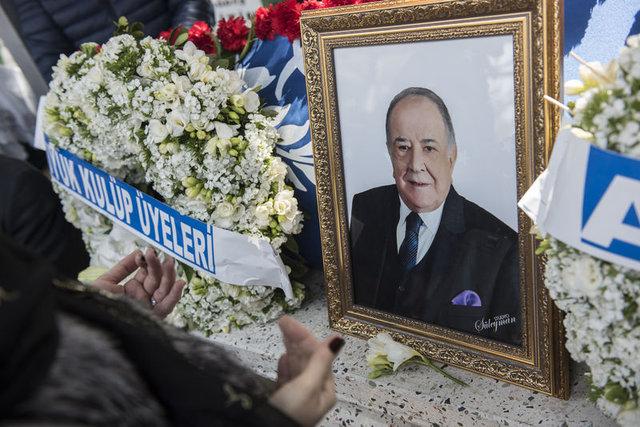 Büyük Kulüp'ün Başkanı Duran Akbulut Zincirlikuyu'da defnedildi