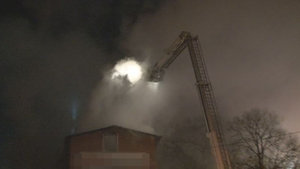 Tuzla'da ambalaj fabrikasında yangın
